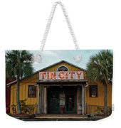 Naples Tin City - Open For Business Weekender Tote Bag