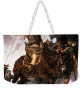 Napoleon Crossing The Alps Weekender Tote Bag