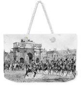Napoleon Reviewing His Troops Weekender Tote Bag