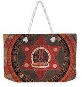 Naropa Mandala Weekender Tote Bag