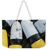 Narragansett Buoys Weekender Tote Bag