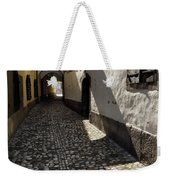 Narrow Cobblestone Alley Ribji Trg Or Fish Square From Cankar Qu Weekender Tote Bag