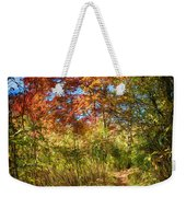 Narrow Is The Path Weekender Tote Bag