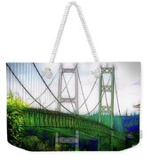 Narrows Bridge Abstract Weekender Tote Bag