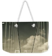 Narrow's Bridge Weekender Tote Bag