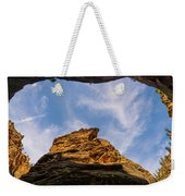 Narrows Sky Zion National Park Utah Weekender Tote Bag