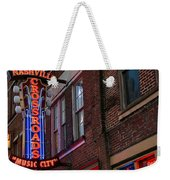 Nashville Crossroads Music City  Weekender Tote Bag