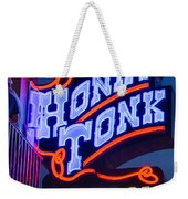 Nashville Honky Tonk Central Weekender Tote Bag