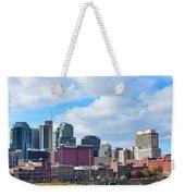 Nashville Panorama View Weekender Tote Bag