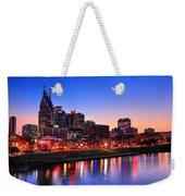 Nashville Southern Nights Weekender Tote Bag
