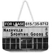 Nashville Sporting Goods Weekender Tote Bag
