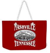 Nashville Tennessee Design Weekender Tote Bag