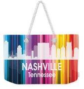 Nashville Tn 2 Squared Weekender Tote Bag
