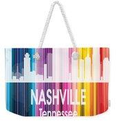 Nashville Tn 2 Vertical Weekender Tote Bag