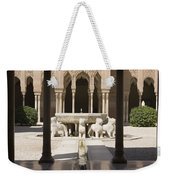 Nasrid Palaces Alhambra Granada Spain Europe Weekender Tote Bag