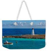 Nassau Harbor Lighthouse Weekender Tote Bag