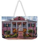 Nassau Senate Building Weekender Tote Bag