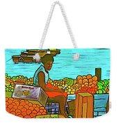 Nassau Fruit Seller At Waterside Weekender Tote Bag