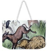 Nast: Democratic Donkey Weekender Tote Bag