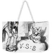 Nast: Inflation, 1873 Weekender Tote Bag