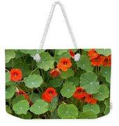 Nasturtiums Weekender Tote Bag