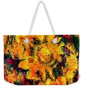 Natalie Holland Sunflowers Weekender Tote Bag