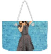 Natalie Weekender Tote Bag by Nancy Levan