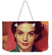 Natalie Wood, Vintage Actress Weekender Tote Bag
