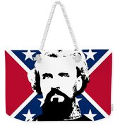 Nathan Bedford Forrest And The Rebel Flag Weekender Tote Bag by War Is Hell Store