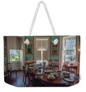 Nathaniel Russell Dining Room Weekender Tote Bag