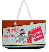 National Bohemian Weekender Tote Bag
