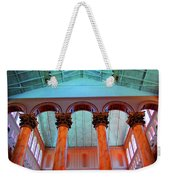 National Column Orange Weekender Tote Bag