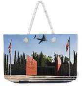 National Medal Of Honor Memorial Fly Over Weekender Tote Bag