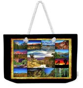 National Parks Of The West Weekender Tote Bag