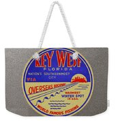 Nations Southernmost City Weekender Tote Bag