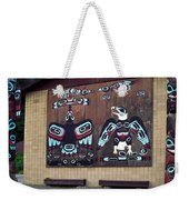 Native Alaskan Mural Weekender Tote Bag