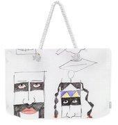 Native Ameican Hills Weekender Tote Bag