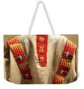 Native American Great Plains Indian Clothing Artwork 09 Weekender Tote Bag