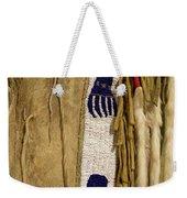 Native American Great Plains Indian Clothing Artwork Vertical 06 Weekender Tote Bag