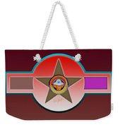 Native American Red Weekender Tote Bag