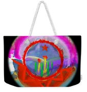 Native American Spring Weekender Tote Bag