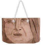 Native American Woman Weekender Tote Bag
