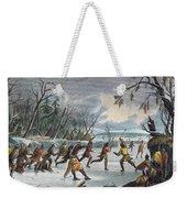 Native Americans: Ball Play, 1855 Weekender Tote Bag