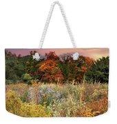 Native Garden Sunset Weekender Tote Bag