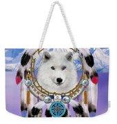 Native Indian Wolf Spirit Weekender Tote Bag
