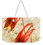 Native Virginia Columbine Weekender Tote Bag