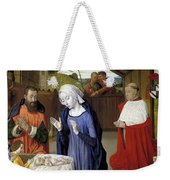 Nativity - Master Of Moulins Weekender Tote Bag