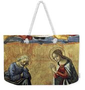 Nativity By Domenico Ghirlandaio Weekender Tote Bag