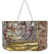 Nativity In An Initial P Weekender Tote Bag