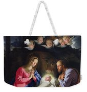 Nativity Weekender Tote Bag by Philippe de Champaigne
